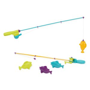 Battat Magnetic Fishing Set for Kids, bath toys, pool toys, summer toys, water toys